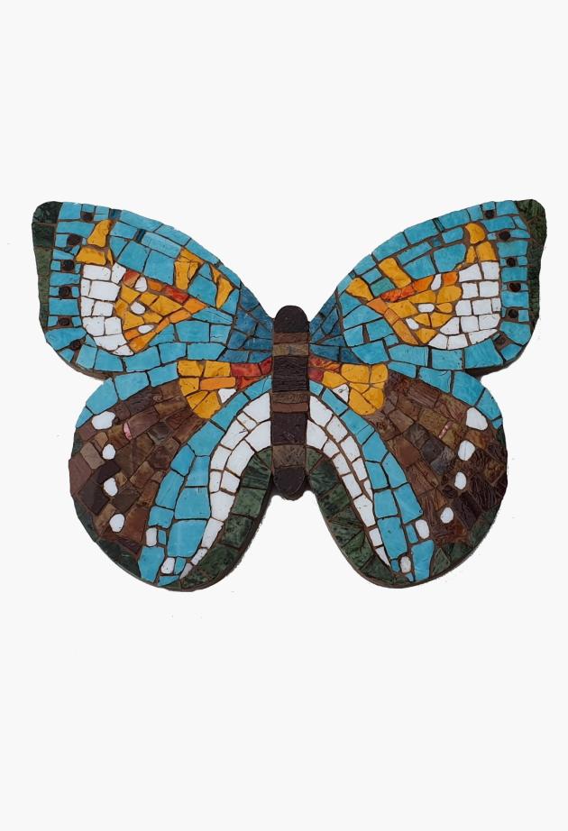 Smalti Vlinder
